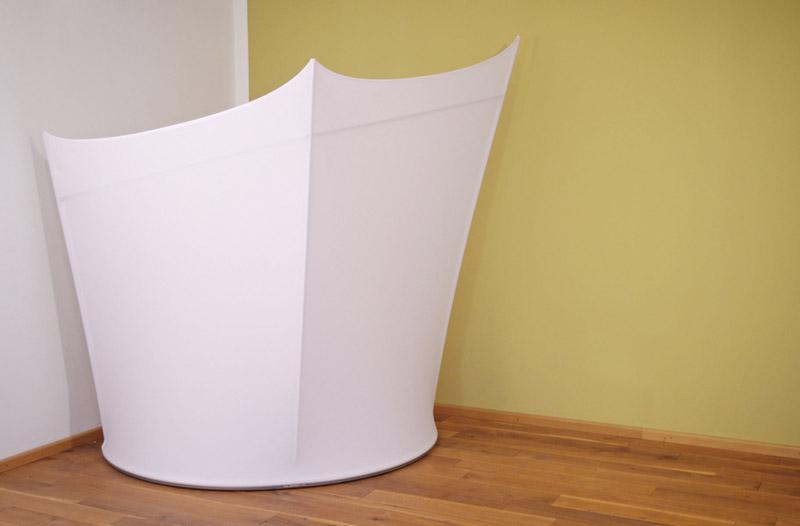 sichtschutz halbrund, fiveeyes design - raumteiler, selbstehende stellwand, Design ideen