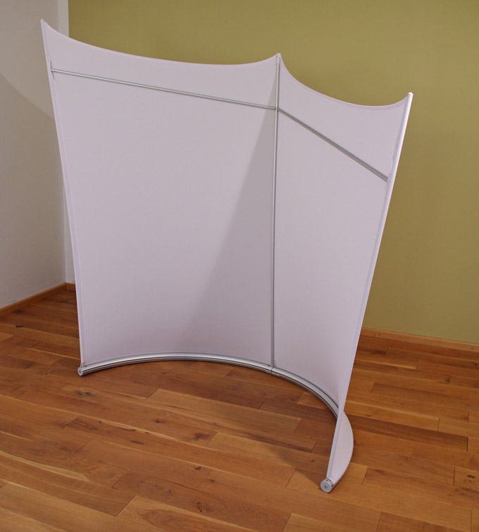 fiveeyes design raumteiler selbstehende stellwand. Black Bedroom Furniture Sets. Home Design Ideas